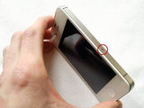 Simkaart tray opener iPhone zilver_