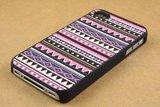 iPhone 4/4s Indianen patroon Aztec Tribal hardcase hoesje case cover_