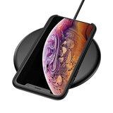 Baseus Original LSR Series Liquid Silicone Gel Case iPhone XS Max Hoes - Zwart_