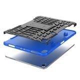 Hybride TPU Polycarbonaat iPad Pro 11-inch 2018 Case Hoes - Profiel Blauw Standaard_