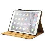 Dromenvanger veren flipcase leder hoes iPad mini 1 2 3 4 5 - Roze_