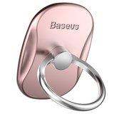 Baseus Telefoongrip 360 graden draaiend - Rosé Goud_