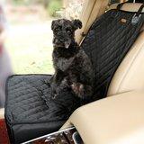 Hond autostoel cover huisdier zitje mand waterproof - Zwart_