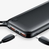 Baseus Powerbank 20.000 mAh Dual-USB Micro-USB - Zwart Fast Charge_