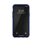 adidas Moulded case canvas hoesje iPhone 11 Pro - Blauw_