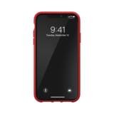 adidas Moulded case canvas hoesje iPhone 11 - Rood_