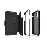 Gear4 Oxford Eco Case Hoesje Booktype voor iPhone 11 - Zwart_