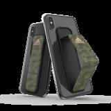 adidas Sport universeel vinger grip band smartphone camouflage size L - Groen_