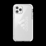 adidas beschermcase groot performancelogo iPhone 11 Pro - Transparant_
