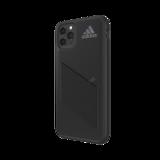 adidas beschermcase streep hoesje performancelogo iPhone 11 Pro Max - Zwart_
