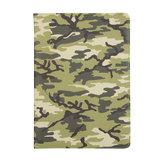 Camouflage Design 360 Graden Rotatie Standaard Hoes Case Kunstleer voor iPad 10.2 inch - Lichtgroen_