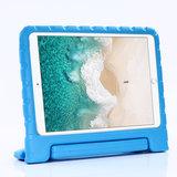Kindvriendelijke Schokbestendige EVA-Hoes Handvat Standaard Niet Giftig voor iPad 10.2 iPad Air 3 10.5 iPad Pro 10.5 - Blauw_