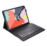 Just in Case Bluetooth Keyboard cover iPad Pro 11 2018 case - Zwart QWERTY_