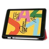 Just in Case Apple iPad 10.2 hoes met Apple Pencil houder - Rood_
