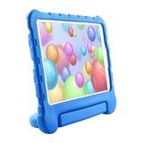 Just in Case EVA iPad 10.2 inch Hoes Case - Blauw Schokabsorberend Kindvriendelijk_