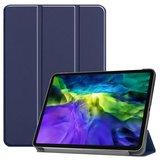 Just in Case Lederen Smart Tri-fold Cover met Case iPad Pro 11 inch 2018 - Blauw_