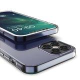 TPU hoesje voor iPhone 12 en iPhone 12 Pro - transparant_