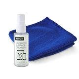 Xqisit Schoonmaakspray voor diverse schermen met micro fiber schoonmaakdoekje - 50 ml_