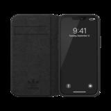 adidas Originals kunstleer hoesje voor iPhone 12 mini - black_