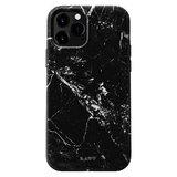 LAUT Huex kunststof hoesje voor iPhone 12 en iPhone 12 Pro - zwart marmer_