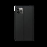 Xqisit Eco Wallet Selection biologisch afbreekbaar hoesje voor iPhone 12 en iPhone 12 Pro - zwart_