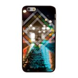 Triangle City night iPhone 6 / 6s hardcase Stadslichten City by Night cover_
