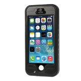 Waterdicht Hoesje iPhone 5 5s SE Waterproof hardcase - IP68 - Zwart_