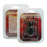 Zwarte speelgoed spin op zonne-energie Solar Powered spider spinnetje_