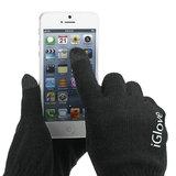 Touch Handschoenen iGlove iPhone Touchscreen Zwart_