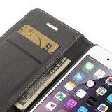 Lederen portemonnee hardcase Bookcase iPhone 6 Plus 6s Plus Witte wallet_