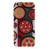 Pizza hoesje TPU iPhone 6 6s Italiaanse vlag Groen wit rood Italie cover_