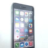 Wolk hoesje hard case iPhone 6 Plus 6s Plus Doorzichtige cover Barcode regen_