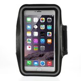 Hardloopband iPhone 6 6s 7 8 Plus sportband Zwart_