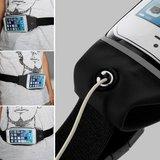 Sportband iPhone 6 6s 7 8 SE 2020 - Hardlopen - Sporten - Heupband - Zwart_
