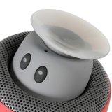Draadloze bluetooth speaker paddenstoel rood mushroom_