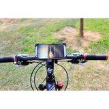 Universele Fietshouder iPhone Samsung Telefoonhouder - Verstelbaar - Fiets - Zwart_
