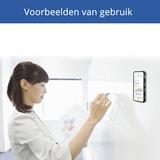 Anti-Gravity case hands-free selfie cover zwart iPhone 6 Plus 6s Plus hoes nano coating_