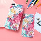 Gekleurde schubben hardcase iPhone 6 Plus 6s Plus hoesje cover_