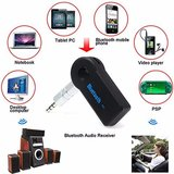 AUX Wireless Bluetooth Hands-free Muziek Ontvanger handsfree carkit audio receiver_