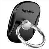 Baseus ring grip universeel standaard - Zwart Zilver_