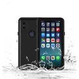 Waterproof iPhone X XS case IP68 waterdicht hoesje - Zwart - Tot 2 meter onderwater_