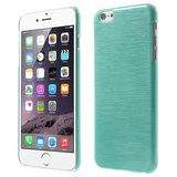 Brushed hardcase hoesje iPhone 6 6s - Blauw_