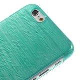 Brushed hardcase hoesje iPhone 6 6s - Blauw_