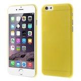 Ultra dunne, stevige 0.3 mm dikke iPhone 6 6s hoesjes - Geel_