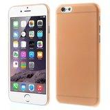 Ultra dunne, stevige 0.3 mm dikke iPhone 6 6s hoesjes - Oranje_