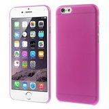 Ultra dunne, stevige 0.3 mm dikke iPhone 6 6s hoesjes - Roze_