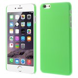 Stevige gekleurde hardcase iPhone 6 Plus 6s Plus Hoesje - Groen_