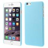 Stevige gekleurde hardcase iPhone 6 Plus 6s Plus Hoesje - Lichtblauw_