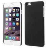 Stevige gekleurde hardcase iPhone 6 Plus 6s Plus Hoesje - Zwart_