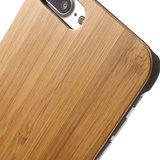 Bamboe hoesje houten case iPhone 7 Plus 8 Plus - Echt hout_